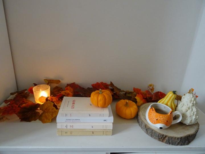 Ma déco d'automne dans lesalon
